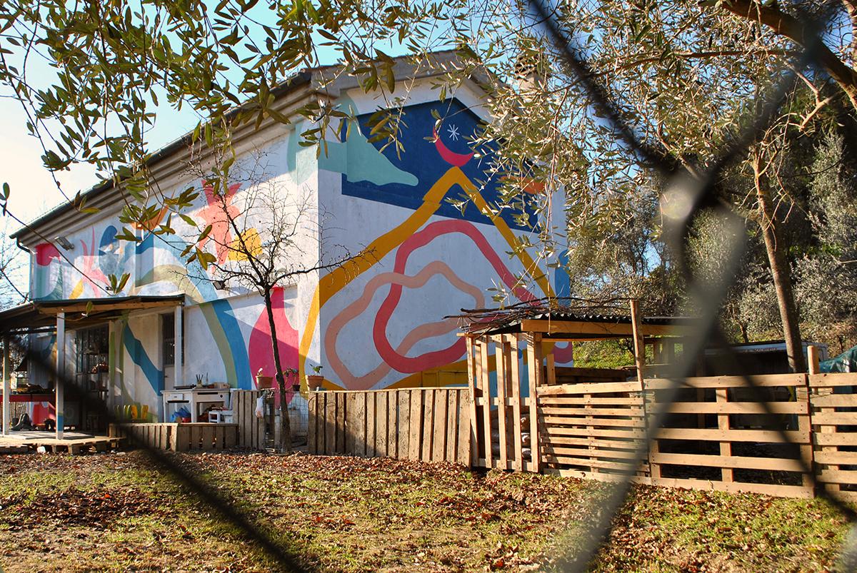 Mural di Turbosafary - Serendipità