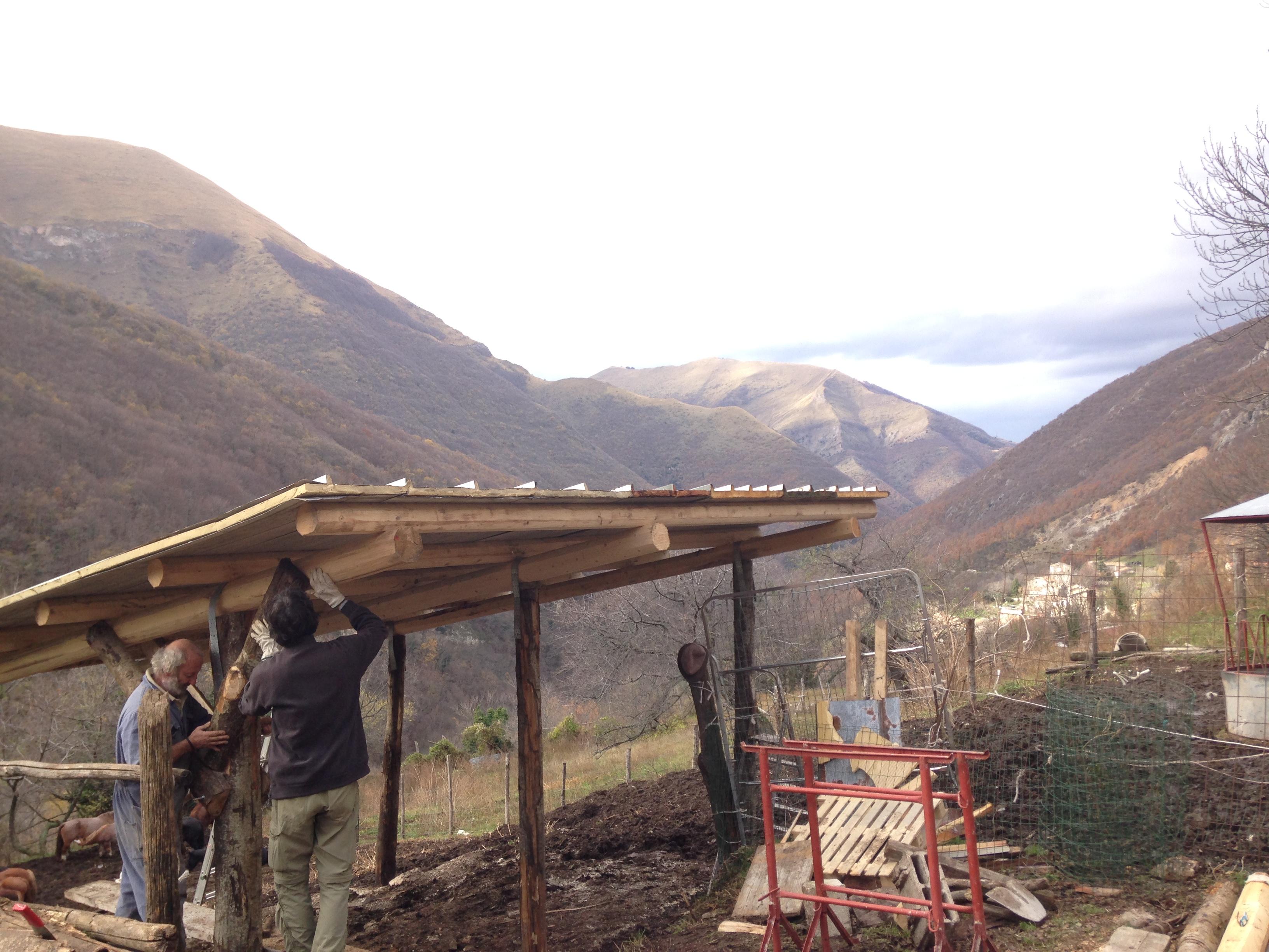 Bolognola, allevamento danneggiato dal sisma