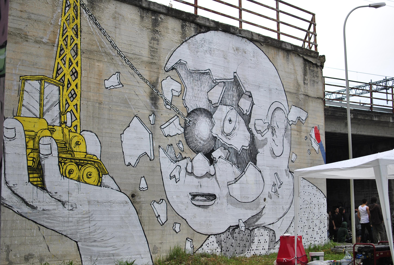 Blu. Street art - Fabriano