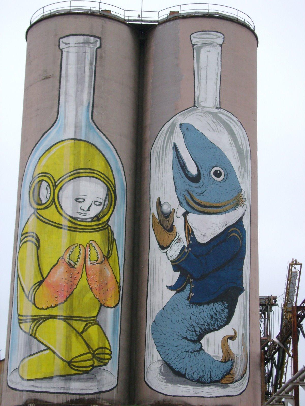 Blu. Street art - Porto di Ancona