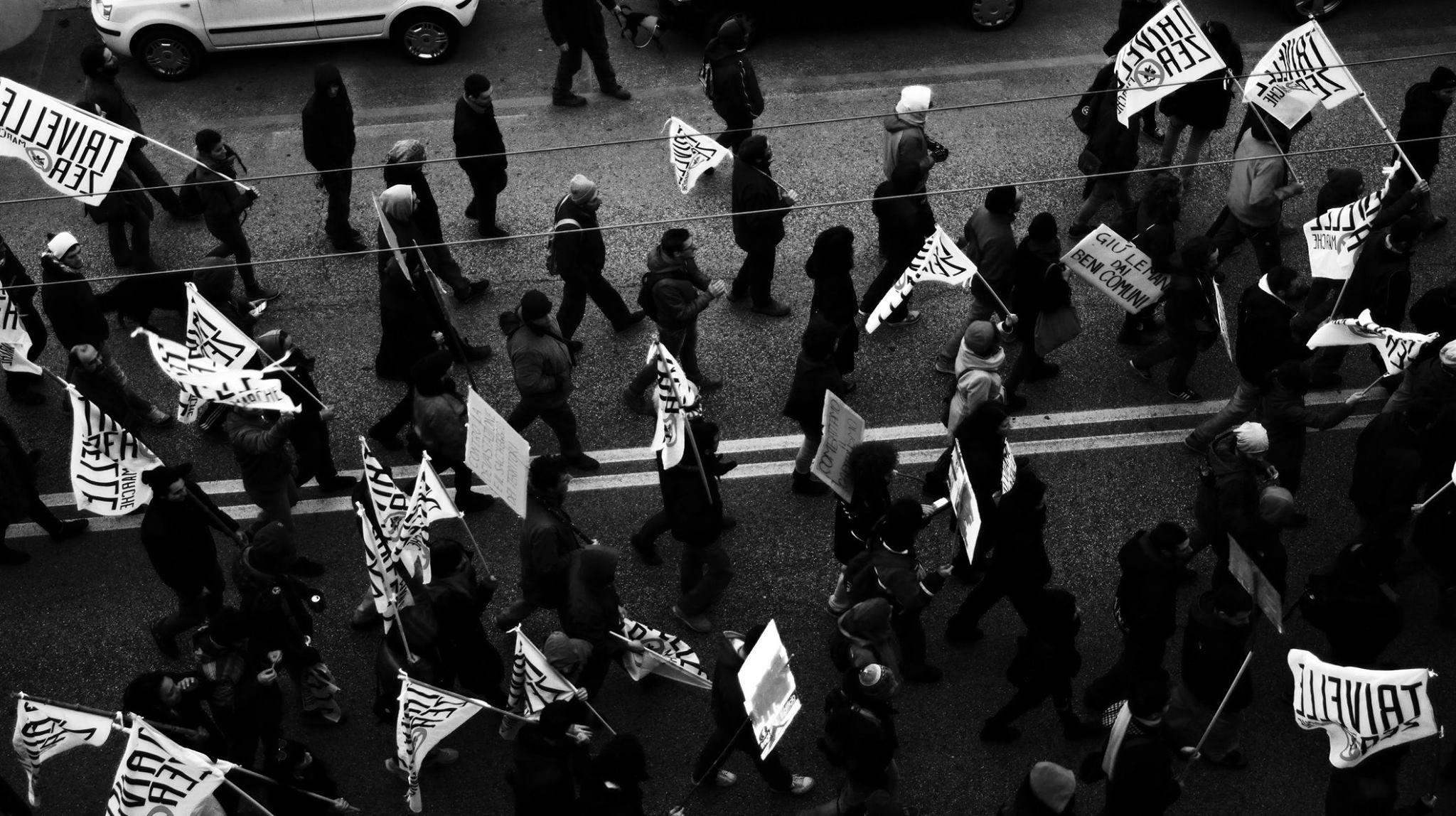 Manifestazione regionale 'Salviamo l'Adriatico', Ancona, 28 novembre 2015