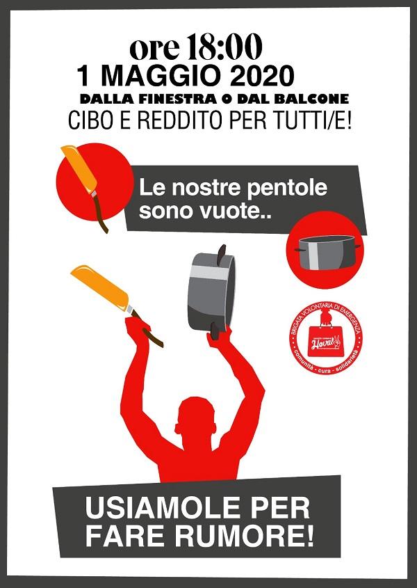 Ancona, Cacerolazo del 1 maggio 2020