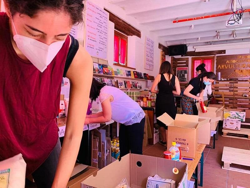 BAMS - mutuo aiuto alimentare presso il centro sociale Arvultura - Maggio 2020