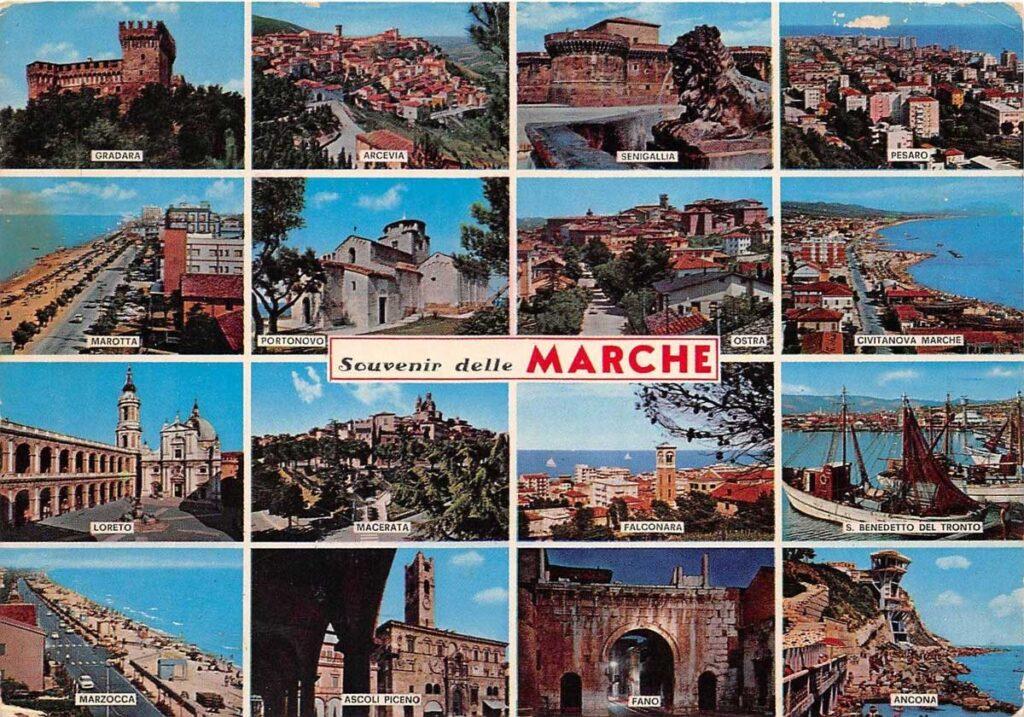 cartolina turismo marche